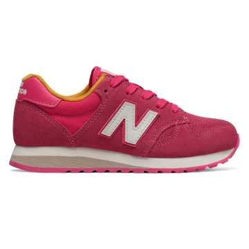 New Balance 520, Pink with Yellow