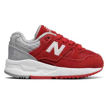New Balance 530 New Balance, Red with Grey