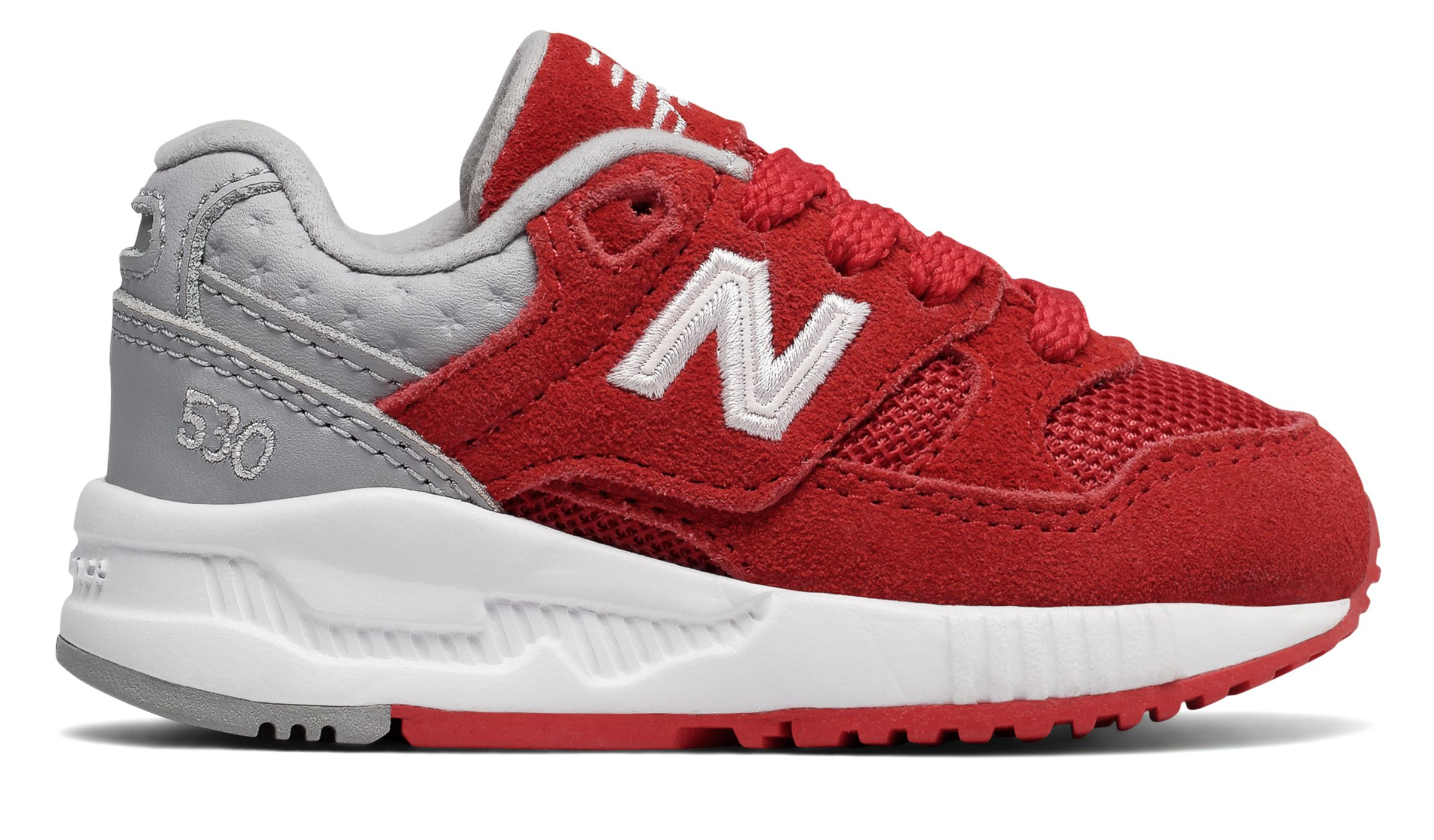 NB 530 New Balance, Red with Grey