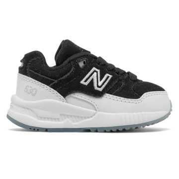 New Balance 530 New Balance, Black with White