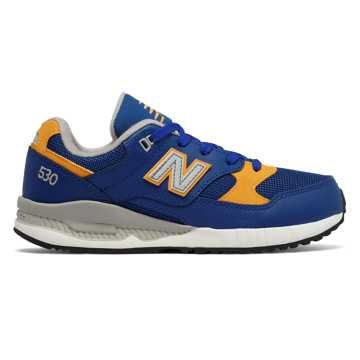 New Balance 530 New Balance, Blue with Yellow