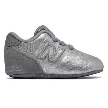 New Balance 574 Crib, Silver