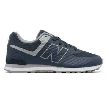 New Balance 574 Breathe, Dark Grey with Light Grey