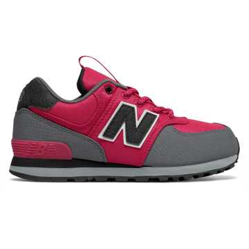 New Balance 574, Exuberant Pink with Grey