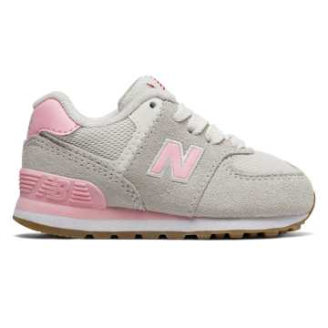 New Balance 574 Resort Sporty, Pink with Light Grey