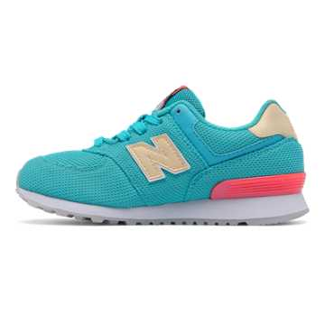 New Balance 574 Miami Palms, Blue Atoll with White