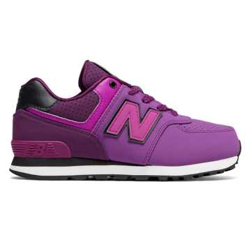 New Balance 574 New Balance, Purple with Black