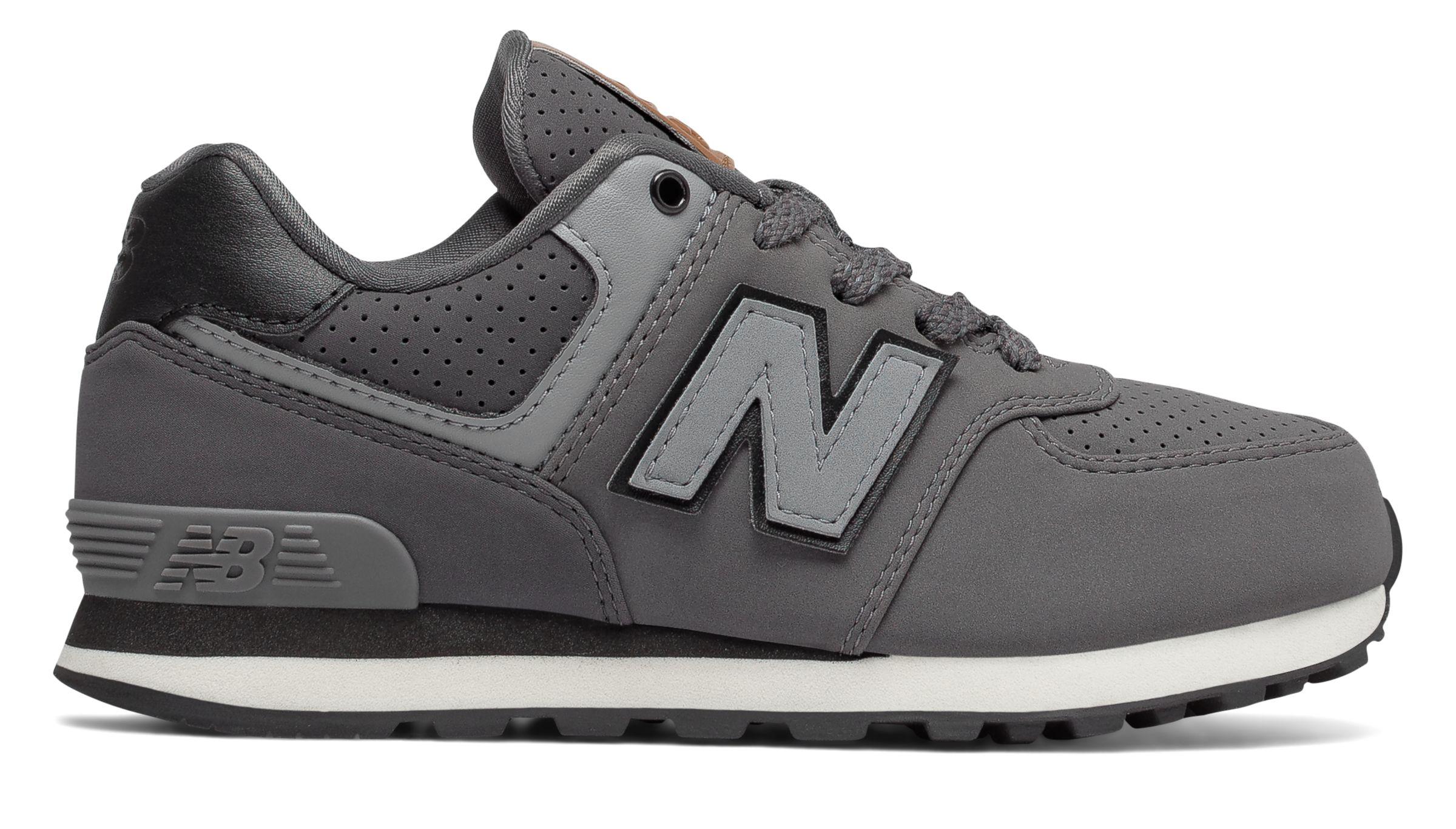NB 574 New Balance, Grey with Black