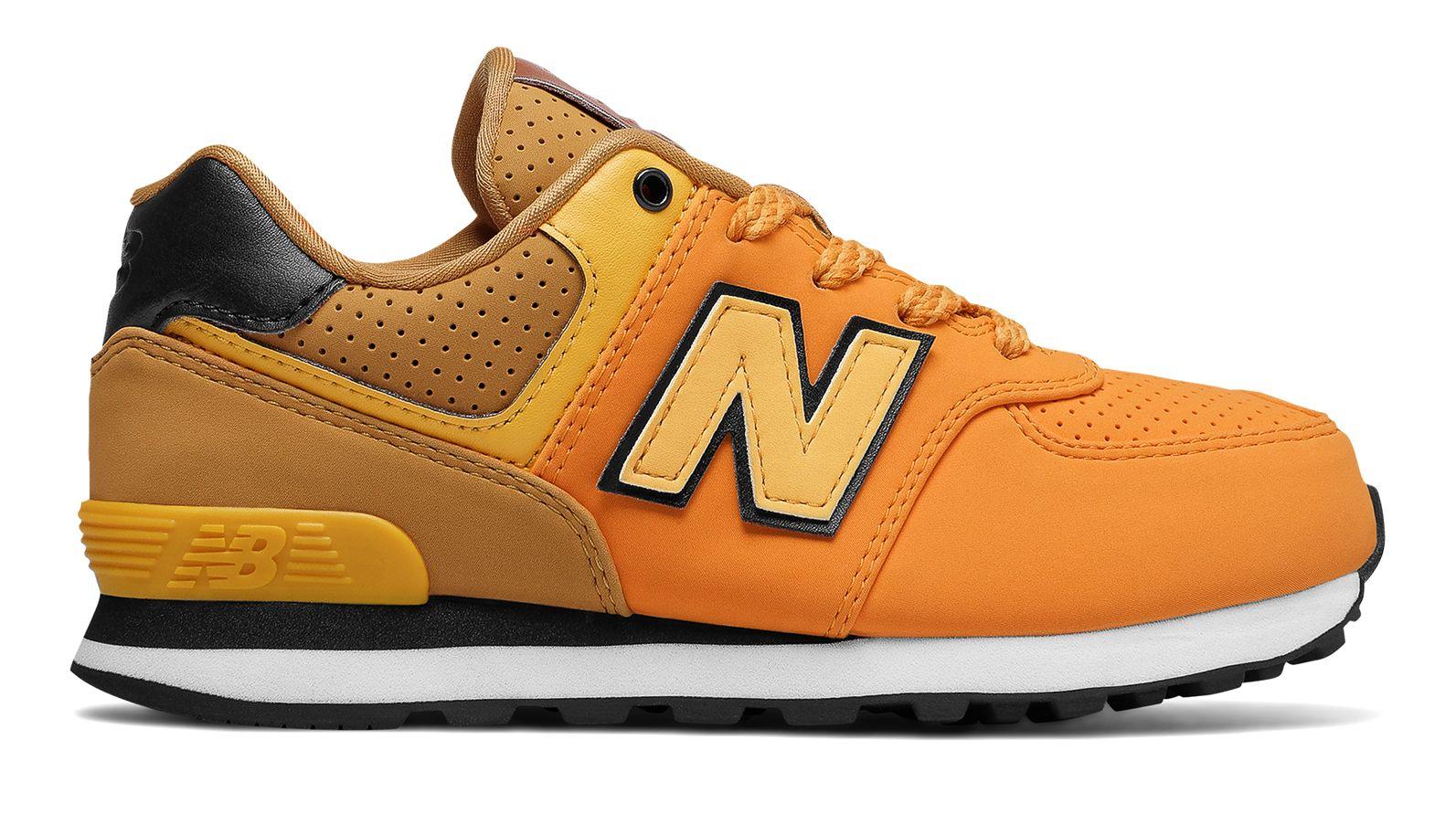 NB 574 New Balance, Yellow with Black