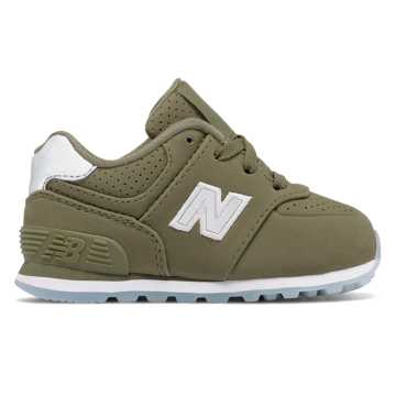 New Balance 574 Luxe Rep, Sage
