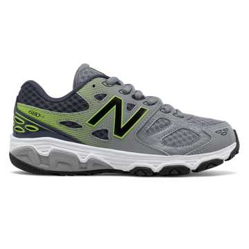 New Balance New Balance 680v3, Grey with Hi-Lite