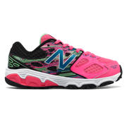 New Balance New Balance 680v3, Pink with Black