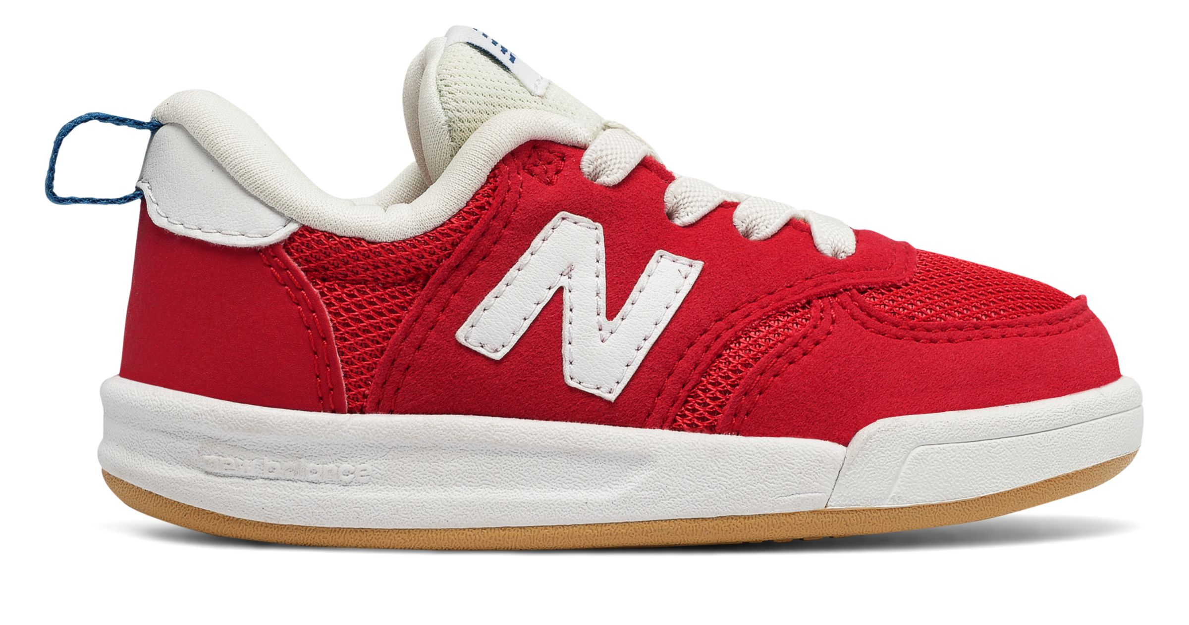 NB 300 New Balance, Red with White