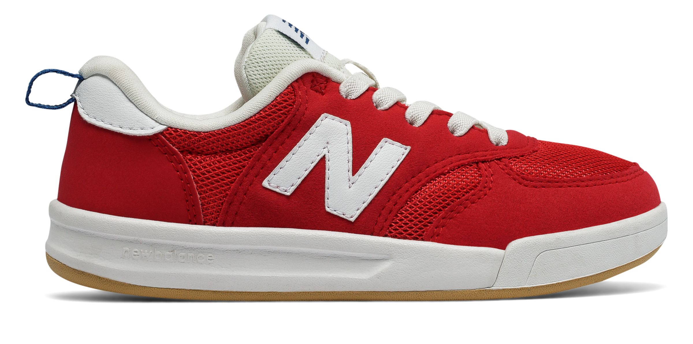 NB 300 New Balance, Really Red with White