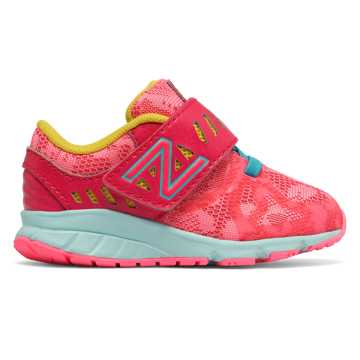 New Balance Hook and Loop 200, Pink with Pink Zing & Ozone Blue