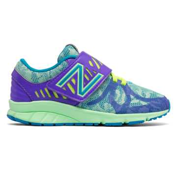 New Balance Hook and Loop 200, Purple with Reef & Blue