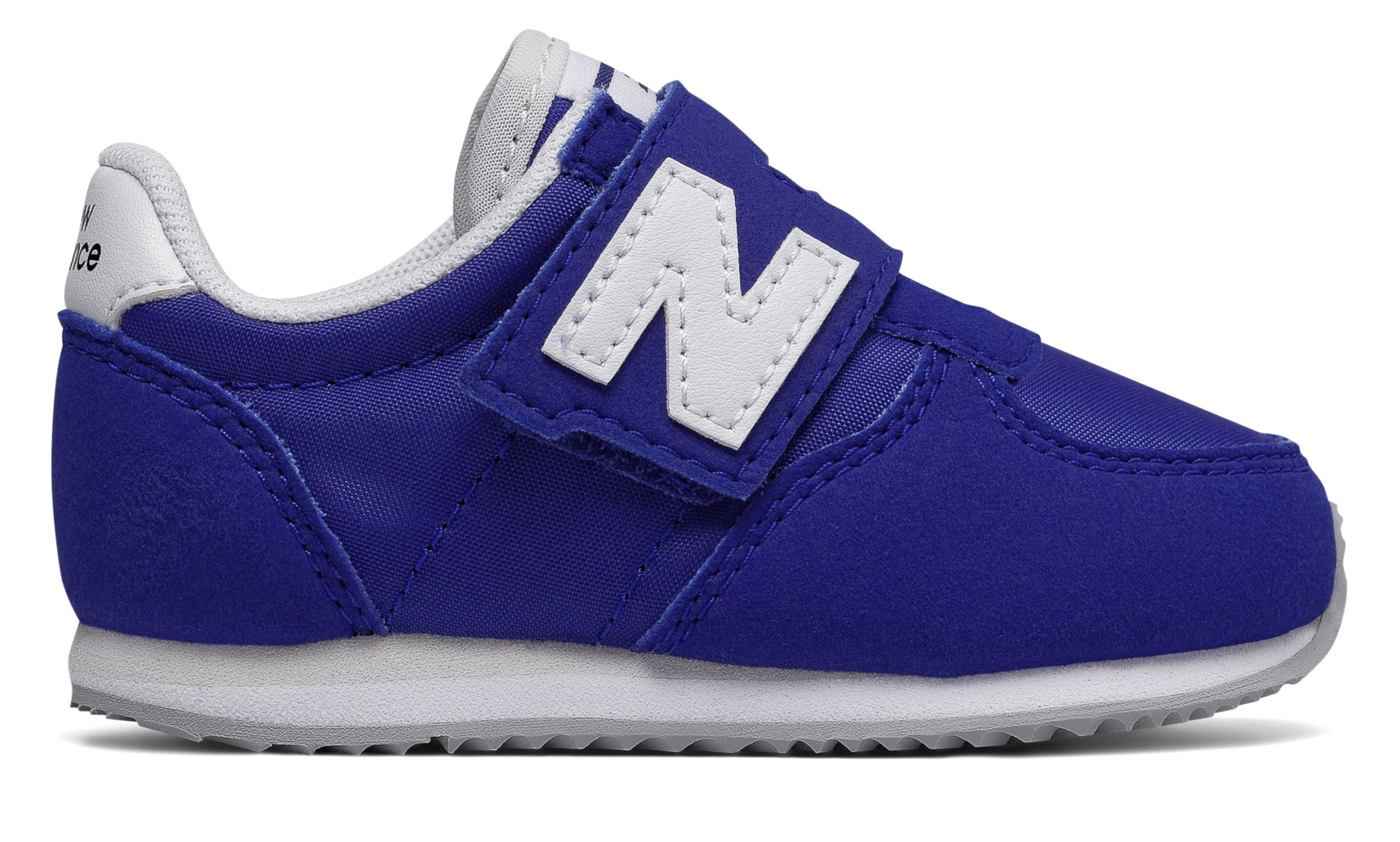 NB 220 Hook and Loop, Blue with White