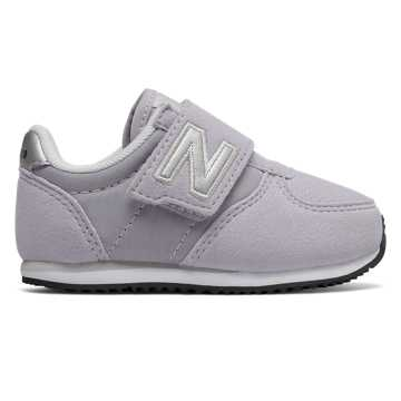 New Balance 220 Hook and Loop, Light Purple with Silver