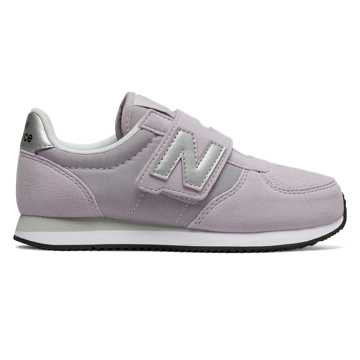 New Balance Hook and Loop 220, Thistle with Silver