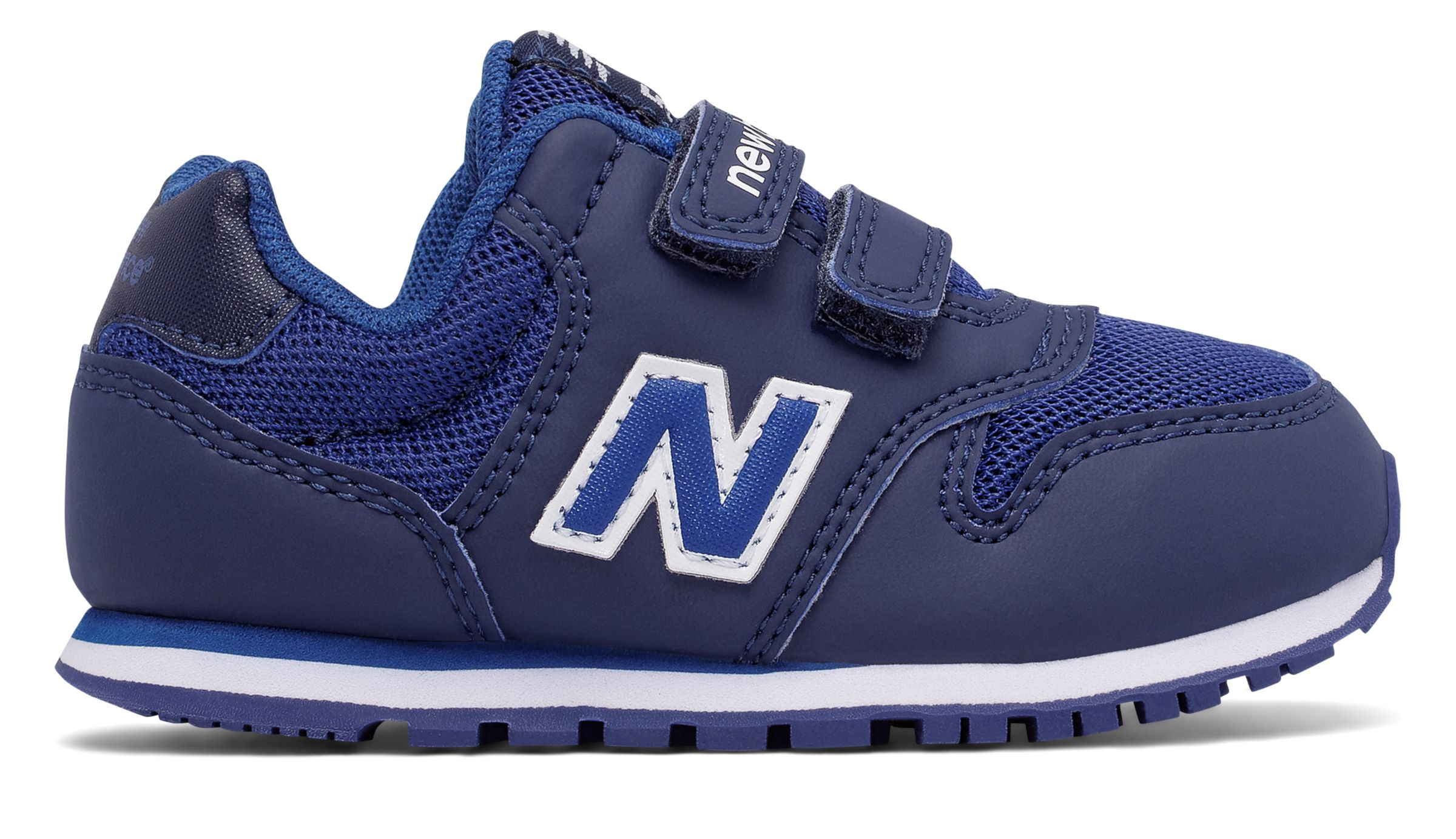NB 500 Hook and Loop, Navy with Blue
