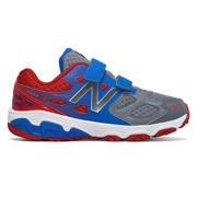 New Balance New Balance 680v3, Grey with Dark Cyan & Red