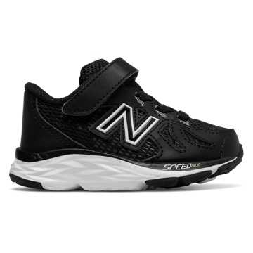 New Balance Hook and Loop 790v6, Black with White