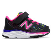 New Balance Hook and Loop 790v6, Black with Pink Zing