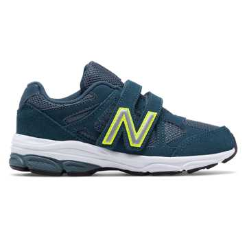 New Balance Hook and Loop 888, Navy with Firefly