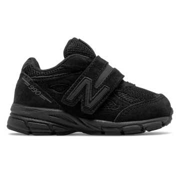 New Balance Hook and Loop 200 Black Boys Infant Shoes