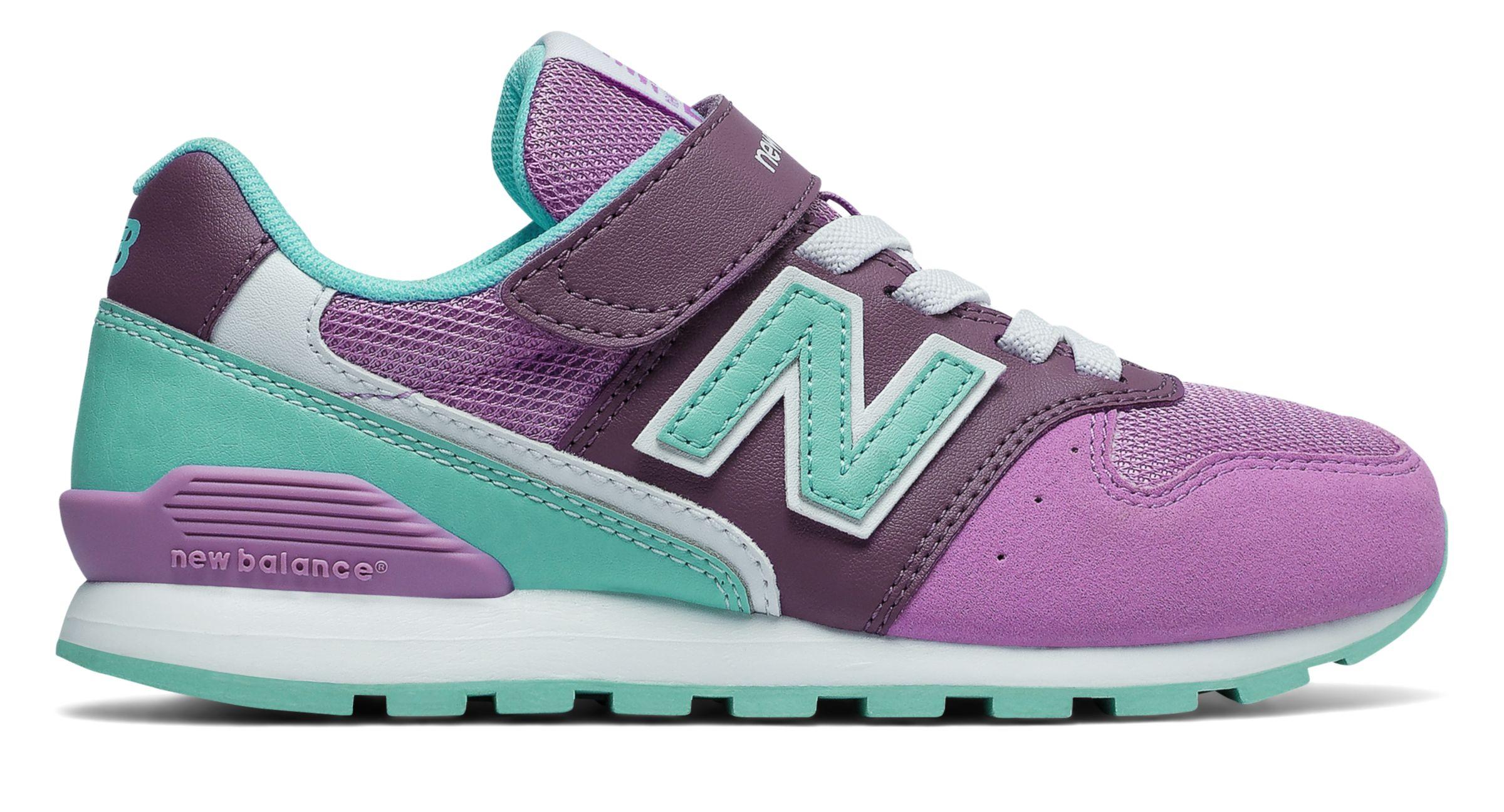 NB New Balance 996v2, Violet with Sky