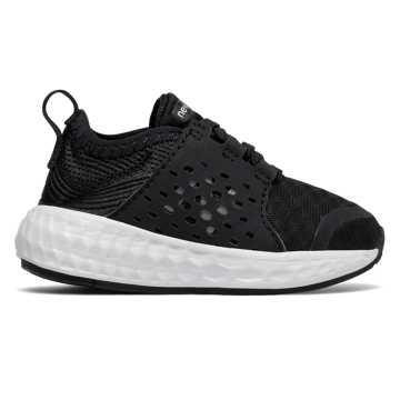 New Balance Cruz Sport, Black with White