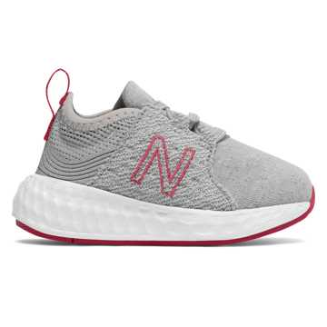 New Balance Cruz Sport, Silver Mink with Pink