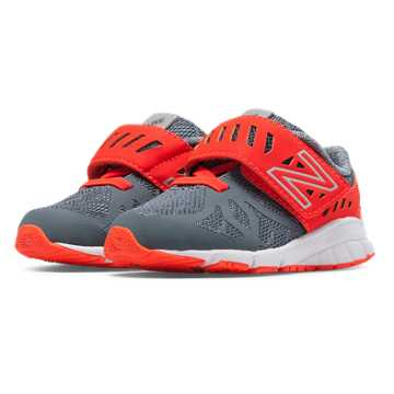 New Balance Vazee Rush, Grey with Orange