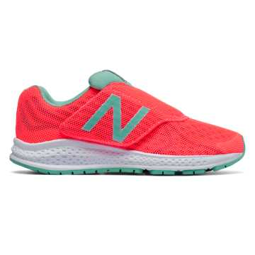 New Balance Hook and Loop Vazee Rush v2, Pink with Teal