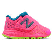 New Balance Hook and Loop Vazee Rush v2, Pink with Blue