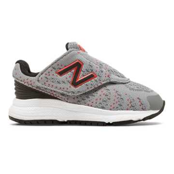 New Balance FuelCore Rush v3, Grey with Black & Red