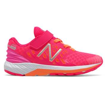 New Balance Hook and Loop FuelCore Urge v2, Pink with Orange