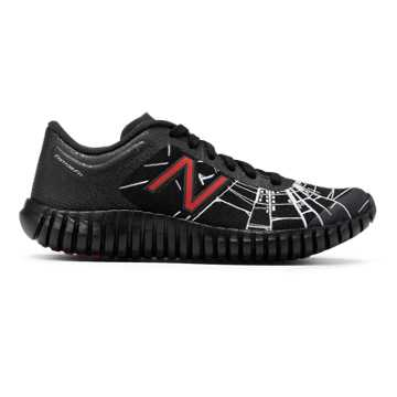 New Balance 99 Marvel Lace, Black with Red