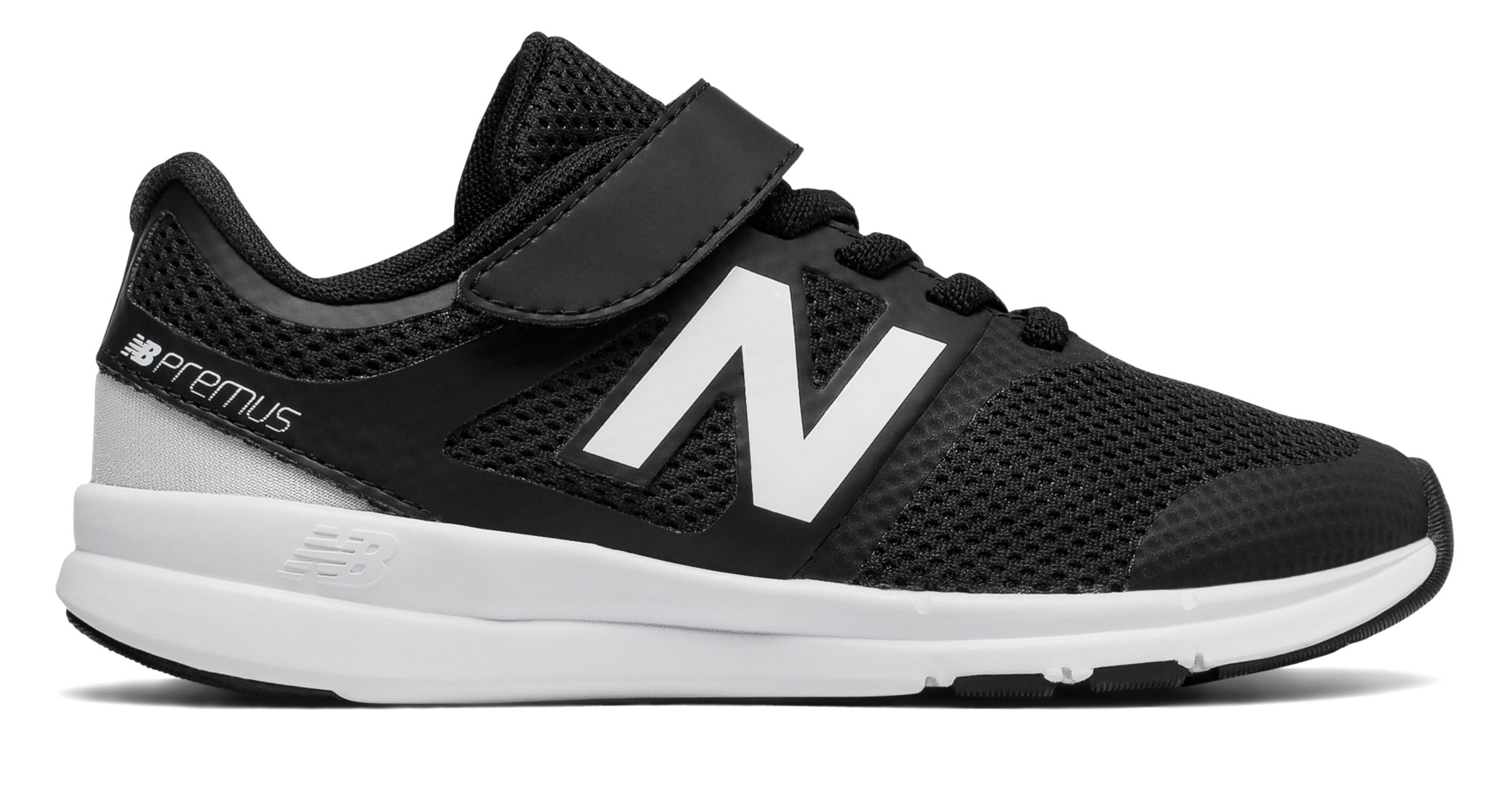 NB Premus Trainer, Black with White