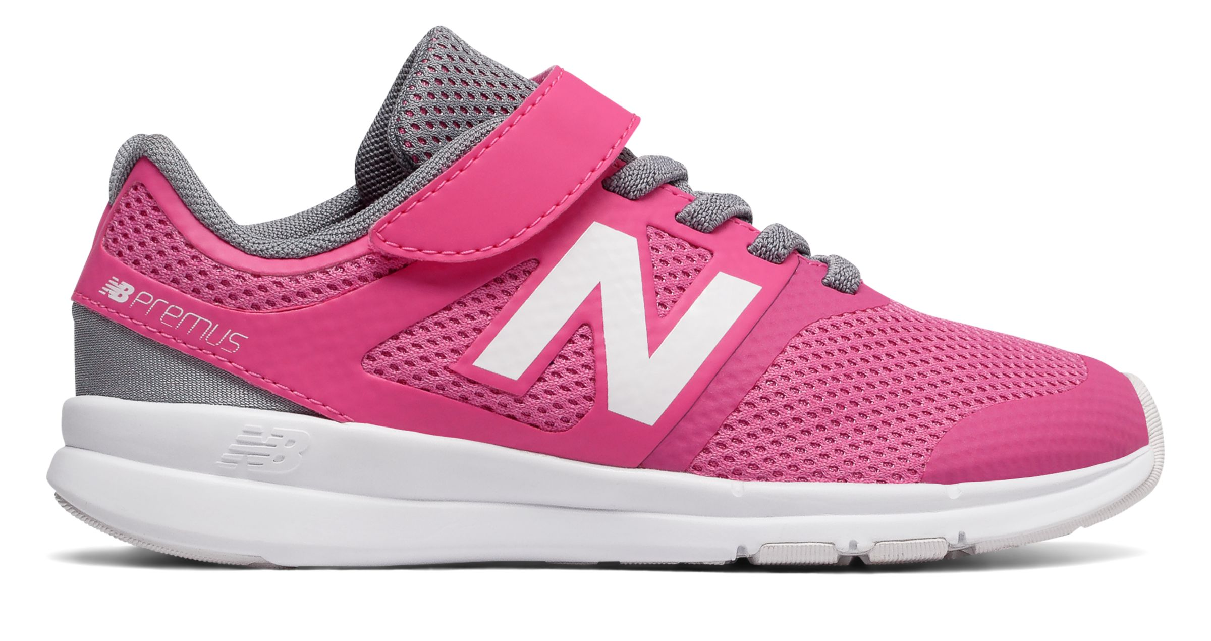 NB Premus Trainer, Pink with Grey