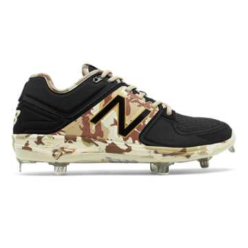 New Balance Memorial Day Low-Cut 3000v3, Black with Off White & Brown