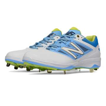 New Balance Low-Cut 4040v3 Standout Pack, White with Light Blue & Blue