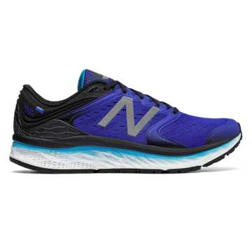 New Balance Fresh Foam 1080v8, Pacific with Black & Maldives Blue