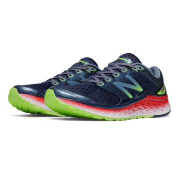 New Balance Fresh Foam 1080, Outer Space with Red & Toxic