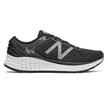 New Balance Fresh Foam男款跑步鞋 稳定舒适 缓震透气, 黑色