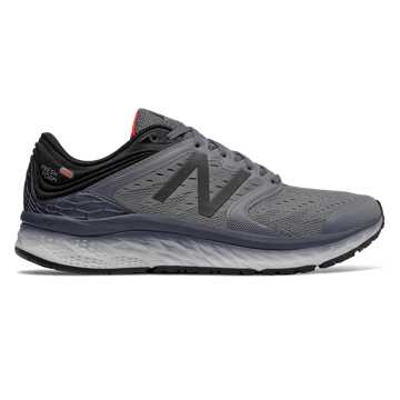 New Balance Fresh Foam 1080v8, Gunmetal with Thunder & Flame
