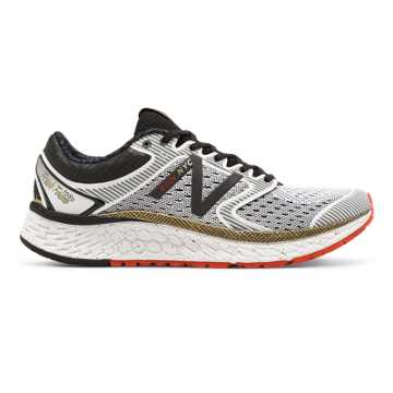 New Balance Fresh Foam 1080v7 NYC Marathon, White with Gold \u0026 Black