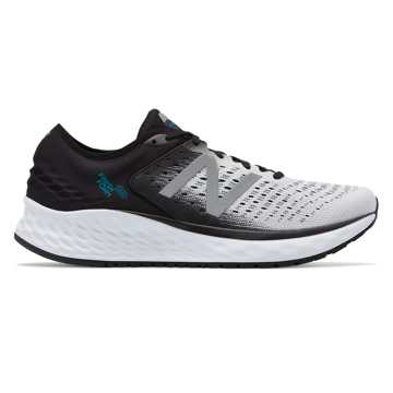 New Balance Fresh Foam 1080 男鞋 稳定舒适 缓震透气, 白色/黑色
