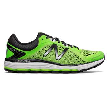New Balance NBX跑步鞋 男款 高弹轻质 缓震舒适, 荧光绿/黑色