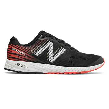 New Balance 1400v5, Black with Flame